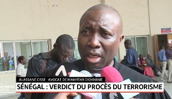 Sénégal: verdict du procès du terrorisme