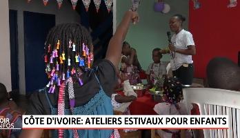 Côte d'Ivoire: ateliers estivaux pour enfants