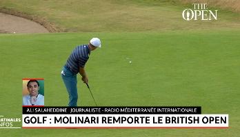 Golf: Molinari remporte le british open