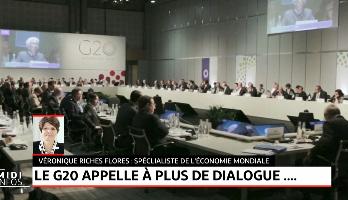 Le G20 appelle à plus de dialogue