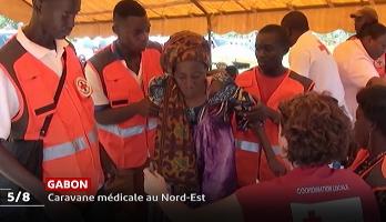 Gabon: caravane médical au Nord-Est