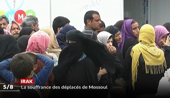 Irak: La souffrance des déplacés de Moussoul