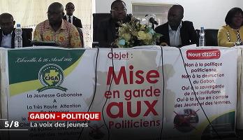 Dialogue politique au Gabon: la voix des jeunes