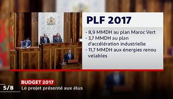 Budget 2017: le projet présenté aux élus