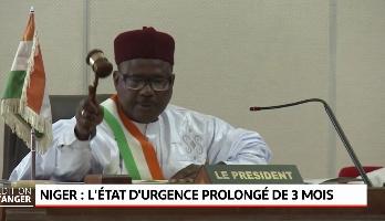 Niger: l'état d'urgence prolongé de trois mois