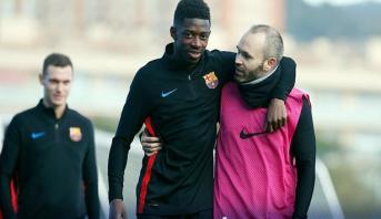 """Espagne - Barcelone: Dembélé de nouveau blessé et absent """"trois à quatre semaines"""""""