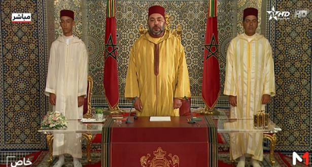 نص الخطاب الملكي بمناسبة الذكرى الـ 64 لثورة الملك والشعب