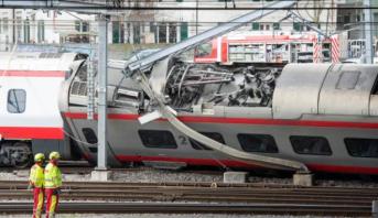 Suisse: des blessés dans le déraillement d'un train