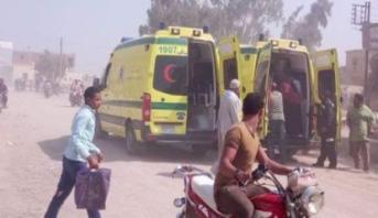 الداخلية المصرية : هجوم المنيا نفذه مسلحون في 3 سيارات دفع رباعي