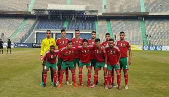 المنتخب المغربي للشبان ينهزم أمام نظيره المصري في مباراة ودية