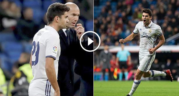 Espagne-Coupe du Roi: première marquante d'Enzo Zidane