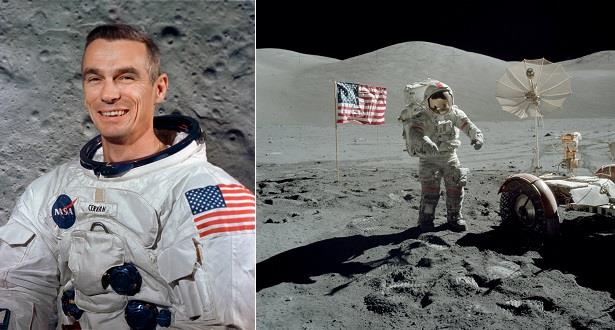 ناسا: وفاة يوجين سيرنان آخر من مشى على سطح القمر