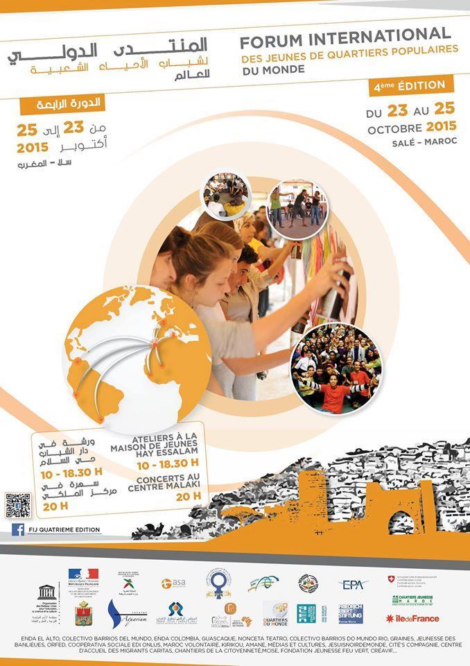 Salé abrite le Forum international des jeunes de quartiers populaires du monde