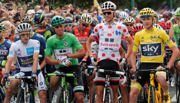 Tour de France: Froome décroche sa quatrième étoile