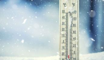 Températures minimales et maximales pour le lundi 26 février 2018