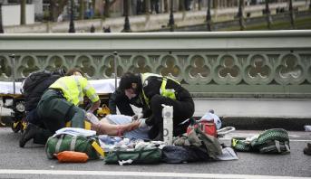 Attaque au parlement britannique à Londres:  au moins un mort et plusieurs blessés graves