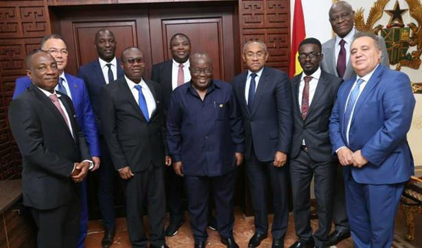 رئيس جمهورية غانا يدعم ترشيح المغرب لاستضافة كأس العالم 2026
