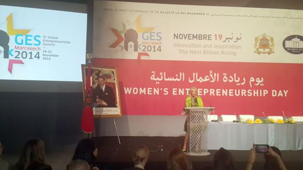 مدي 1 تي في - الأخبار : مراكش : جيل بايدن تبرز إنجازات المغرب في مجال تعزيز حقوق المرأة