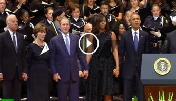 Vidéo: un autre malaise signé George W. Bush...