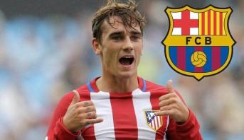 برشلونة يتوصل إلى اتفاق لحسم صفقة غريزمان