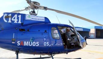 Évacuation héliportée d'un nourrisson dans un état critique d'Al Hoceima au CHU de Fès
