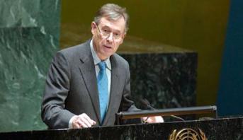 الاتحاد الأوروبي ينوه بتعيين ورست كوهلر مبعوثا شخصيا للأمين العام للأمم المتحدة إلى الصحراء