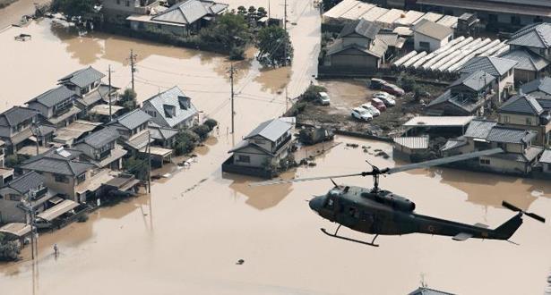 Japon: Au moins 199 morts dans les intempéries survenues à l'ouest du pays (Nouveau bilan)