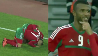 CHAN 2018: El Kaabi signe un triplé et envoie le Maroc en quarts