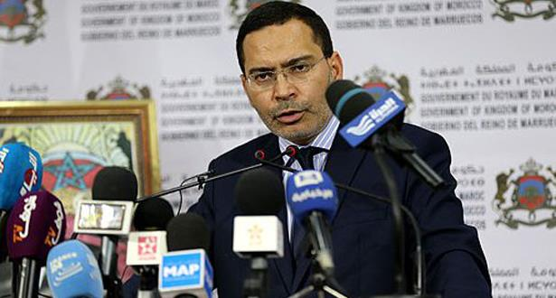 الخلفي : الحكومة معبأة للقيام بدورها في إقليم الحسيمة وباقي أقاليم المملكة
