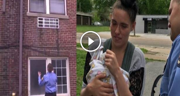 Vidéo: Un pompier rattrape un bébé lancé par son père du 3ème étage pendant un incendie