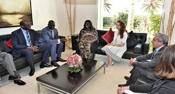الأميرة للا سلمى تستقبل بالرباط السيدة الأولى لجمهورية السنغال