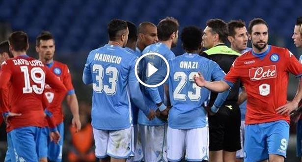 Série A: Lazio contre Naples interrompu à cause de cris racistes