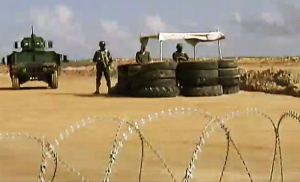 Saisie d'un véhicule transportant des munitions dans la zone tampon entre la Libye et la Tunisie