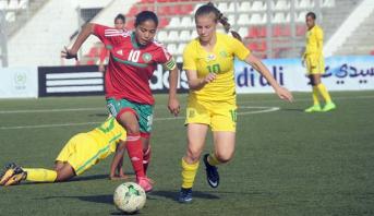 المنتخب الوطني لكرة القدم النسوية لأقل من 17 سنة ينهزم أمام جنوب إفريقيا