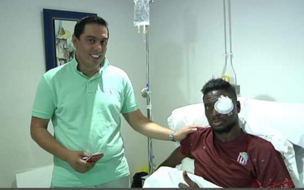 """العملية الجراحية للاعب """"الماط"""" كامارا بن يوسف تكلل بالنجاح"""