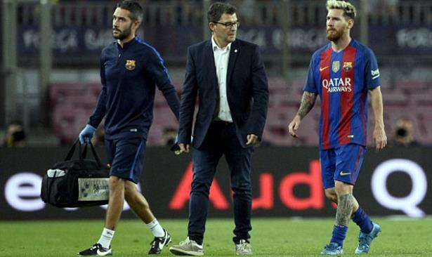 FC Barcelone: trois semaines d'absence pour Messi blessé contre l'Atletico