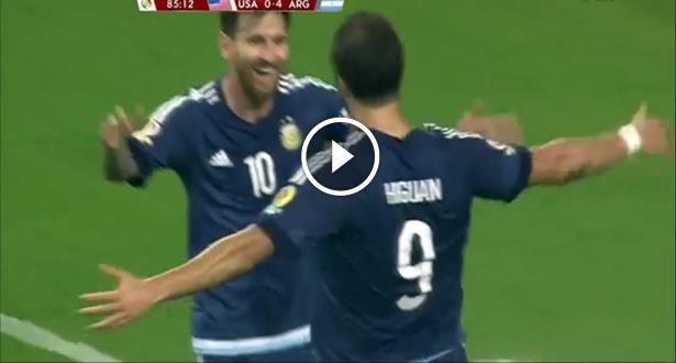 Copa America 2016 : Record et finale pour Messi