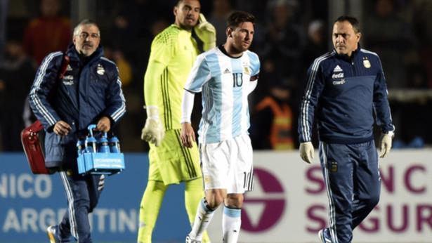 الاتحاد الأرجنتيني يُعلق على إصابة ميسي