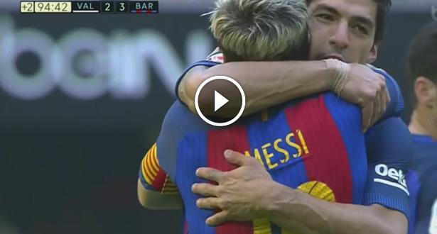 فيديو .. ميسي يقود برشلونة لفوز مثير بملعب مستايا