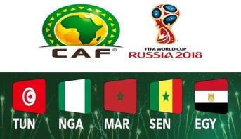Mondial-2018: Une dotation de 500.000 dollars pour chaque équipe africaine en lice (CAF)