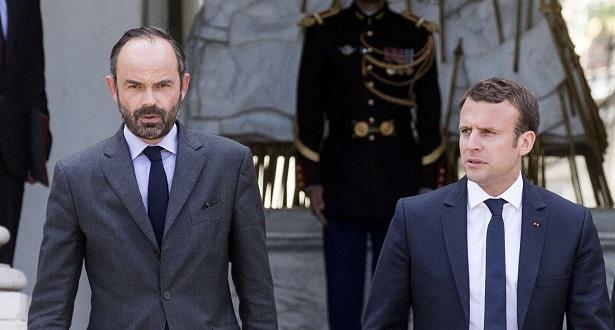 ماكرون يعيد تكليف رئيس الحكومة إدوار فيليب تشكيل الحكومة الجديدة