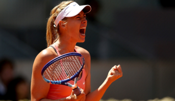 بعد غياب دام 15 شهرا .. شارابوفا تعود إلى ملاعب التنس