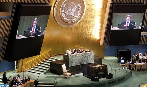 La délégation marocaine à la 72 AG de l'ONU offre une brillante réception aux Chefs des délégations africaines et caribéennes