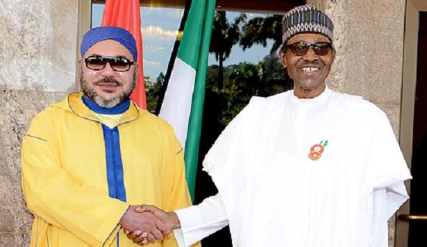 Entretien téléphonique entre le Roi Mohammed VI et le Président nigérian