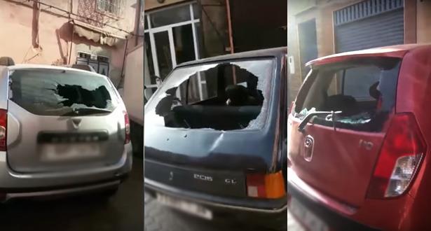 Arrestation à Marrakech de trois individus qui ont saccagé plusieurs voitures dont une ambulance (DGSN)