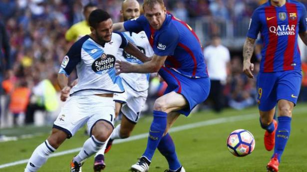 FC Barcelone : Mathieu éloigné des terrains trois semaines