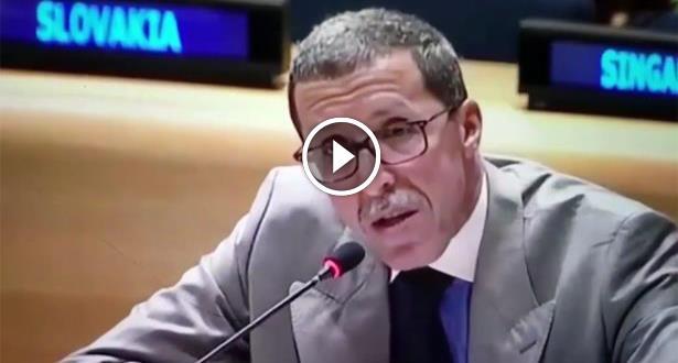 فيديو .. عمر هلال يرد بقوة على تصريحات سفير فنزويلا في الأمم المتحدة