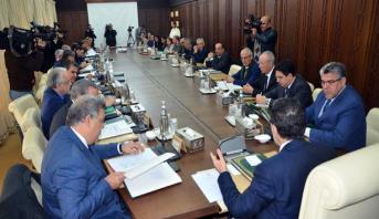 أربعة مشاريع مراسيم في جدول أعمال مجلس الحكومة الخميس
