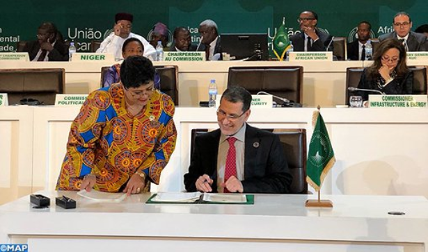 العثماني: توقيع المغرب على اتفاقية منطقة التبادل الحر القارية الإفريقية يتوج عودته للاتحاد الإفريقي
