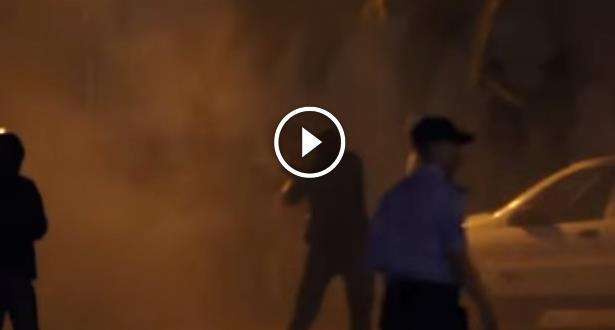 فيديو .. التدخل الأمني بعد حريق مركز الإصلاح والتهذيب عين السبع واختناق سجناء
